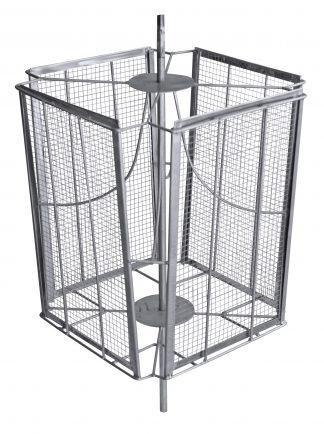 Bal Süzme Makinası Sepeti 4 Çerçevelik ( 304 Kalite)